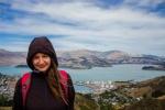 Helenka a kopec na Christchurchem