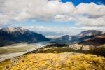 Výhled na Arthur's Pass