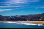 Výhled z mola v Christchurch