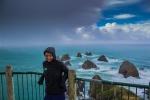 Helenka a bouře na Nugget Point