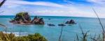Výhled na moře u Pancake Rocks