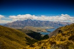 View from track Ben Lomond in Queenstown