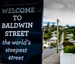 The world's steepest street in Dunedin