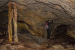 Helenka is looking for gold in the old mine