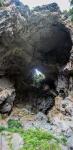 Skalní oblouk v Jenolanských jeskyních