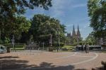 Centrum Hyde parku s katedrálou