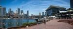 Přístav Darling Harbour spolu s moderním centrem města