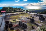 Ruiny zlatokopeckého města v Dennistonu