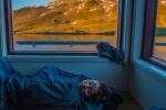 Těsně před probuzením u Andělského jezera (Angelus Hut)