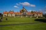 Budova muzea v Rotorua