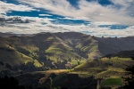 The journey to the town of Akaroa